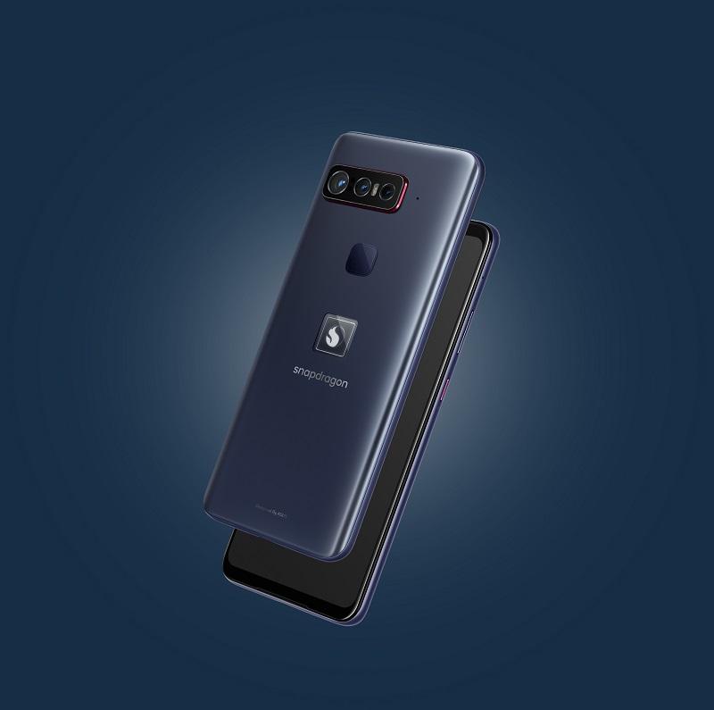 render 3D smartfona, widok z tyłu